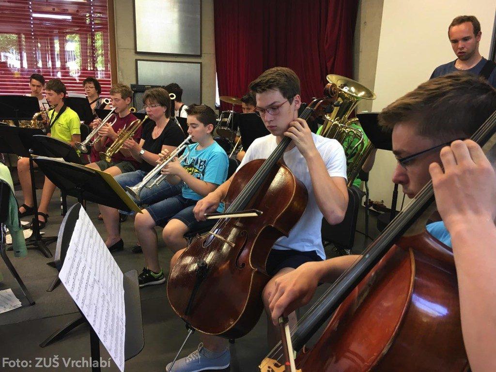 Orchester der Musikschule Vrchalbi