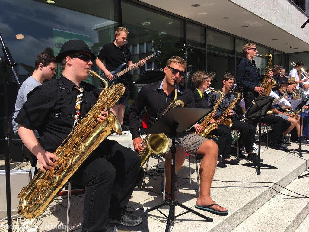 Die Big Band der Musikschule Baunatal